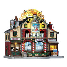 Lemax Village Collection Canterbury Farms Eggnog Factory #65131