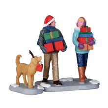 Lemax Village Collection Christmas Party, Set of 2 #62445