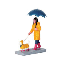 Lemax Village Collection Walking In The Rain #62448