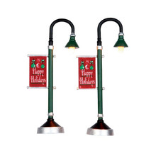 Lemax Village Collection Municipal Street Lamp, set of 2 #64065