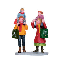 Lemax Village Collection Family Christmas Shopping #22022