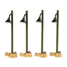 Lemax Village Collection Rustic Street Lamp, set of 4 #54362