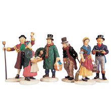 Lemax Village Collection Village People, Set of 6 #92356