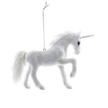 Kurt Adler 4.5in Plush Unicorn Ornament #C4672