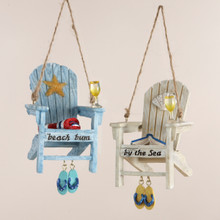Kurt Adler Adirondack Beach Chair Ornament #C8177