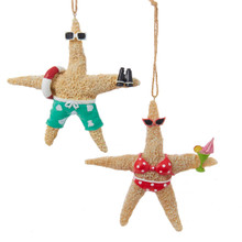 Kurt Adler Starfish Ornament #C8971
