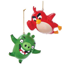 Kurt Adler Angry Bird Ornament #BD1161