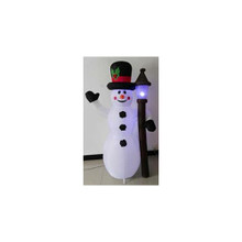 6' Inflatable Snowman/Lamppost #19327