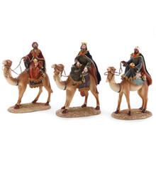 Wisemen on Camel, Set of 3 #46403
