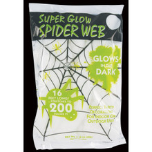 Super Glow Spider Web #9558