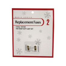 5 Amp 125 Volt Replacement Fuses, Pack of 2 #ES64981