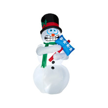 Shivering Snowman Inflatable #AS86235