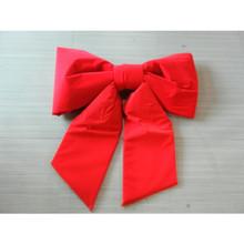 """36"""" Red Wired Outdoor Padded Velvet Bow UV-Resistant #MTX48436"""