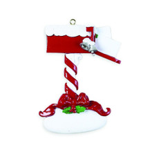 Rudolph & Me Christmas Mail Personalized Ornament #73