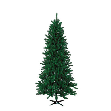 9' Pre-Lit Hudson Valley Pencil Tree w 550 Clear UL Lights ...