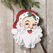 RAZ Vintage Santa Claus Face Ornament #3616382