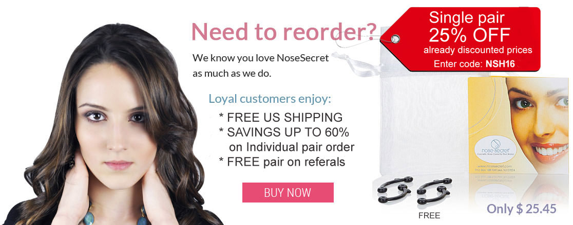 Need to reorder Nose Secret