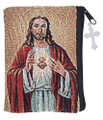 Rosary Case Tapestry - Sacred Heart