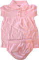 Infant - Dress / Bloomer (Pink)