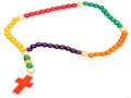 Wood Bead Child's Rosary