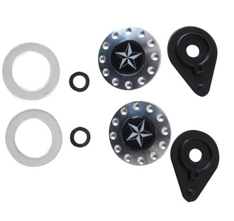 Visor Attachment Hardware Kit