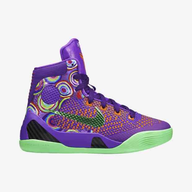 68e30527c874 Nike Kobe IX Elite GS - Purple Venoms  636602-500. Image 1. Loading zoom