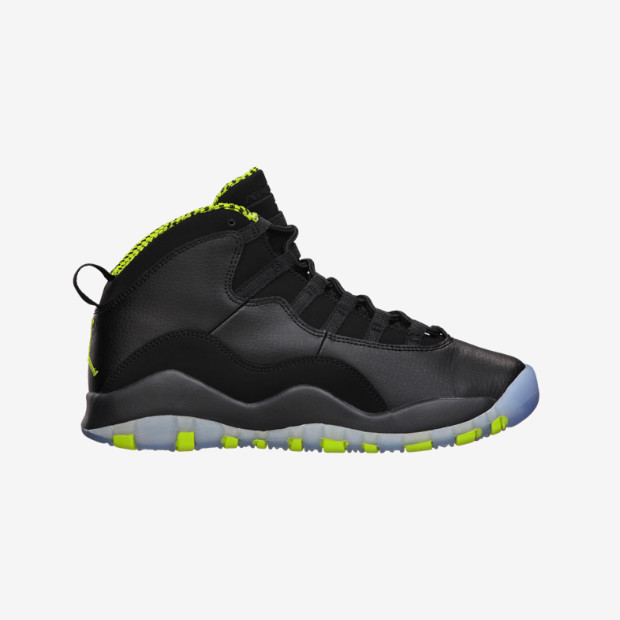 5829d0c26069 Nike Air Jordan 10 GS - Venom Green  310806-033 - The Sole Closet