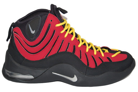 newest a1b21 1ce3d Nike Air Bakin - Varsity Red  316383-001 - The Sole Closet