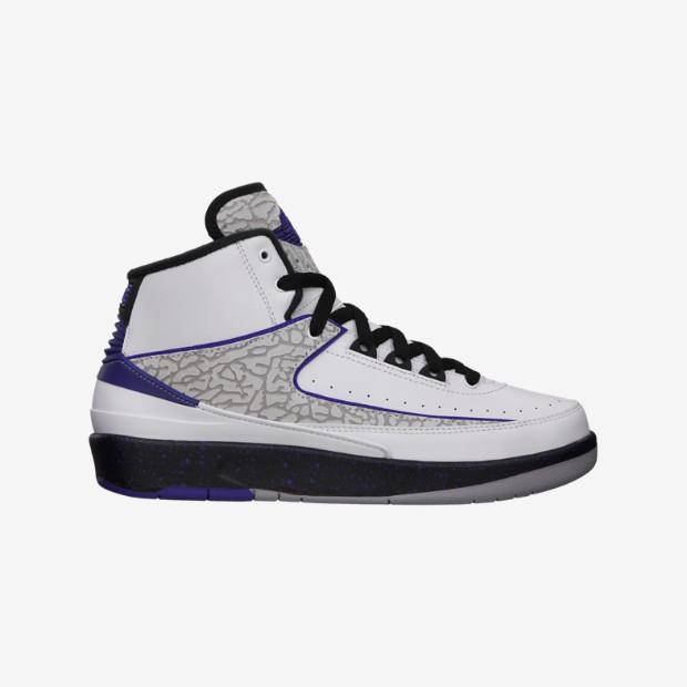 Nike Air Jordan 2 GS - Concord  395718-153. Image 1. Loading zoom f11468f8fd