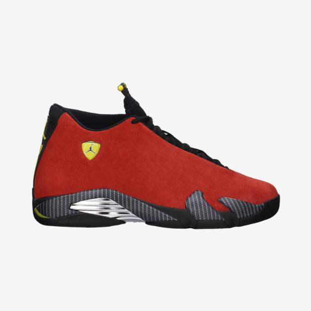 645000be96ff Nike Air Jordan 14 - Ferrari  654459-670. Image 1. Loading zoom