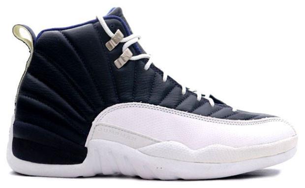 fb297d56524e0d Nike Air Jordan 12 (GS) - Obsidian  153265-410. Image 1. Loading zoom