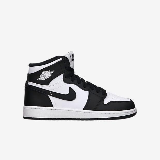 Nike Air Jordan 1 OG High GS - Black