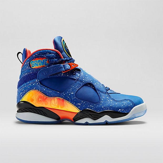 72224dae2cb Nike Air Jordan 8 - Doernbecher  729893-480. Image 1. Loading zoom
