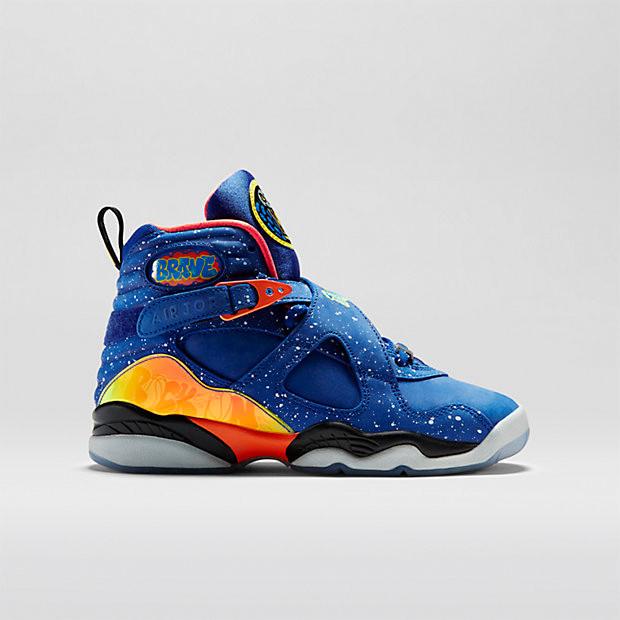 4abf905ff4569c Nike Air Jordan 8 GS - Doernbecher  729894-480 - The Sole Closet