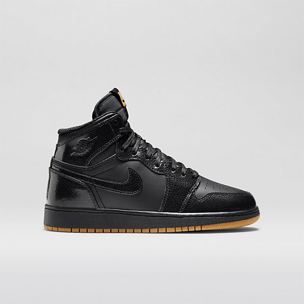 afff618c8d7910 Nike Air Jordan 1 Retro High OG GS - Black Gum  575441-020. Image 1.  Loading zoom