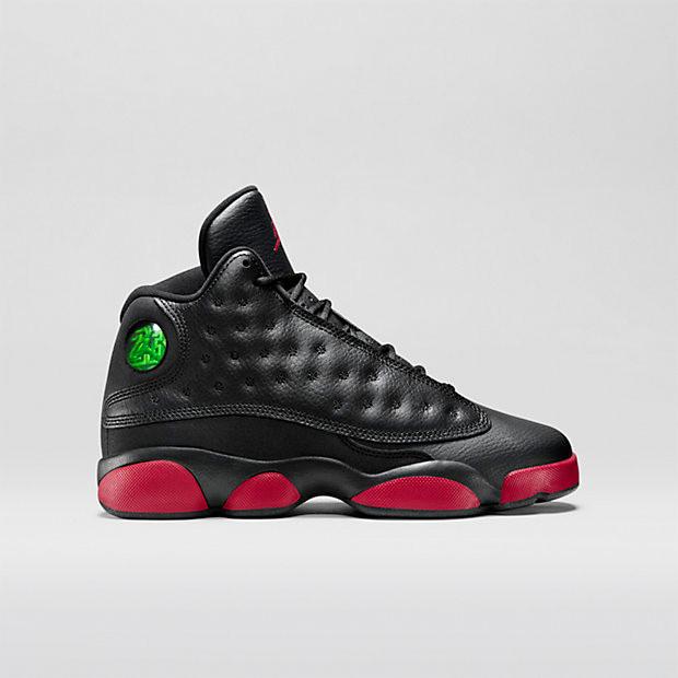909fb67e5e2 Nike Air Jordan 13 GS - Black Infrared  414571-033. Image 1. Loading zoom