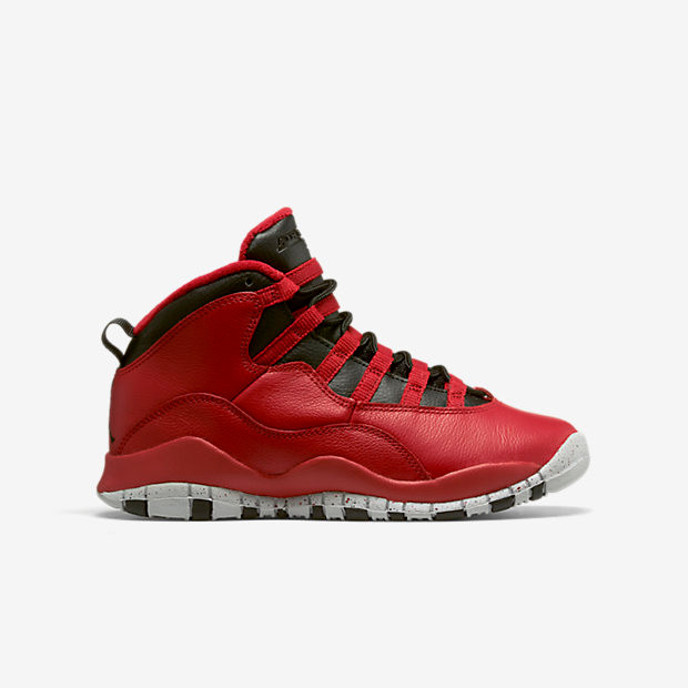 info for 3597c a5f51 Nike Air Jordan 10 Remastered GS - Bulls Over Broadway  705178-601. Image  1. Loading zoom