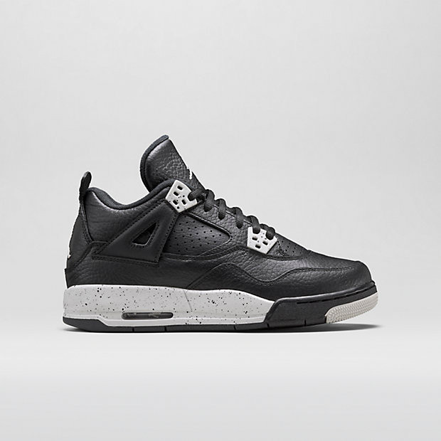 ac818d3e8c19 Nike Air Jordan 4 Remastered GS - Oreo  408452-003 - The Sole Closet