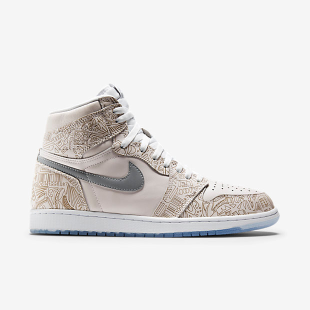 sports shoes 3d619 f2668 Nike Air Jordan 1 Retro High OG - Laser  705289-100. Image 1. Loading zoom