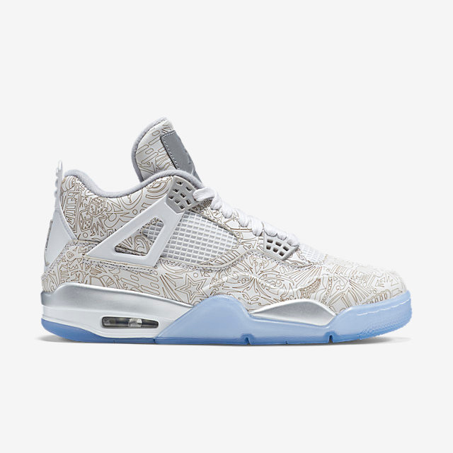 pretty nice aa258 62483 Nike Air Jordan 4 - Laser  705333-105. Image 1. Loading zoom
