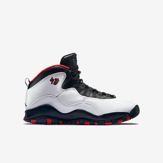f8b933433dee06 Nike Air Jordan 10 Remastered GS - Double Nickel  310806-102. Image 1.  Loading zoom
