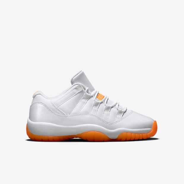 6c3ad9c2 Nike Air Jordan 11 Low - Citrus #580521-139. Image 1. Loading zoom