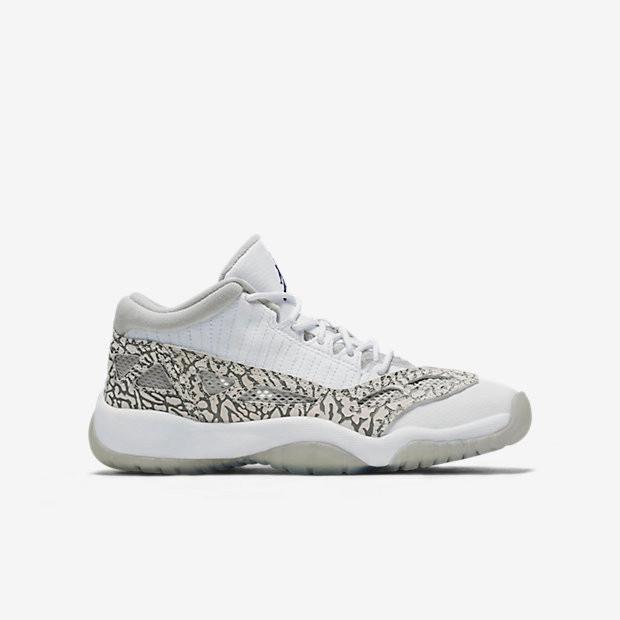 26fc4b9ec616 Nike Air Jordan 11 Low IE GS - White Cobalt  768873-102. Image 1. Loading  zoom