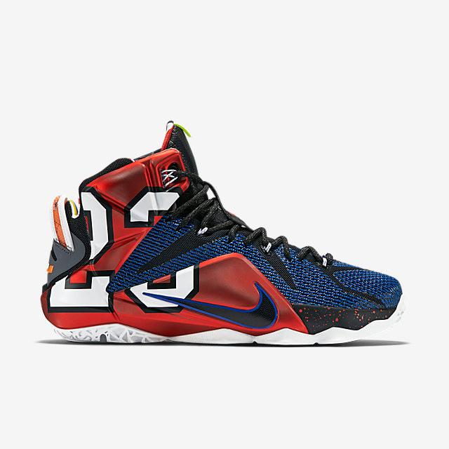Nike Lebron XII - What The Lebron  812511-909. Image 1. Loading zoom 7c7fb501a