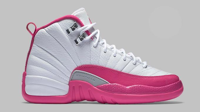 5a80cabc3f5 Nike Air Jordan 12 - Dynamic Pink/Vday #510815-109. Image 1. Loading zoom