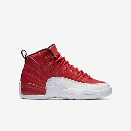 Nike Air Jordan 12 GS - Gym Red  153265-600. Image 1. Loading zoom df1ced36c