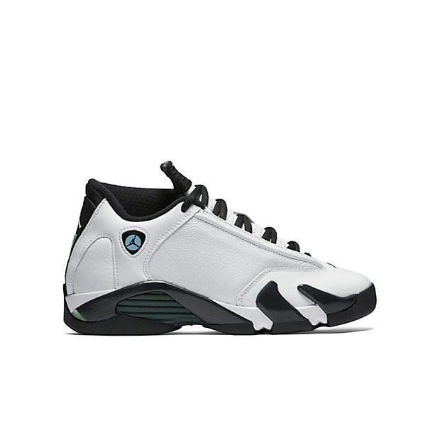 44e3a0a25a5191 Nike Air Jordan 14 GS - Oxidized Green  487524-106. Image 1. Loading zoom