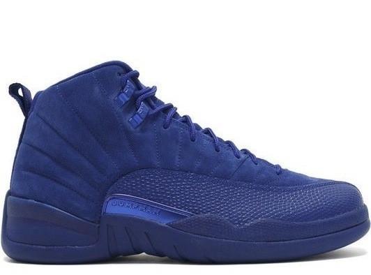 4b57ff0278550a Nike Air Jordan 12 - Blue Suede  130690-400 - The Sole Closet