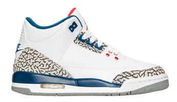 c8fe7a84ef43f8 Nike Air Jordan 3 GS - True Blue  854261-106 - The Sole Closet