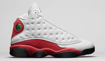 91819f3e725 Nike Air Jordan 13 - Chicago #414571-122. Image 1. Loading zoom
